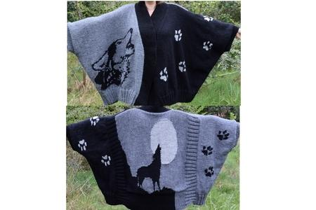 Poncho loup en Canada